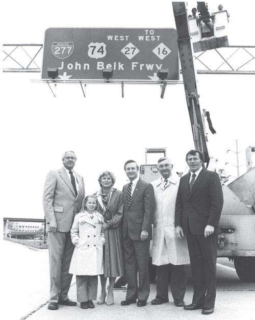 John Belk Freeway Dedication