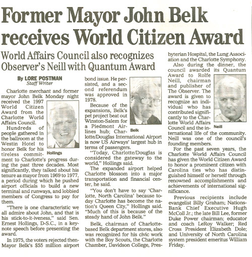 World Citizen Award