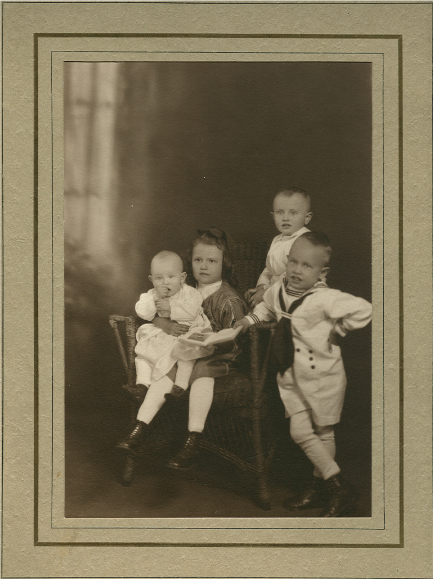 3-John-M-Belk-with-young-siblings